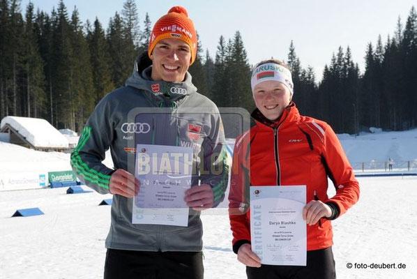 Dominic Reiter und Darya Blashko
