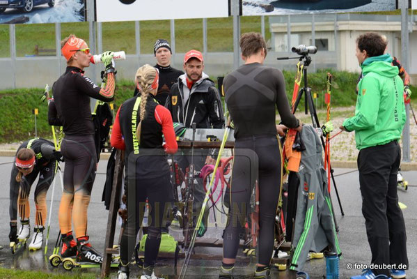 Lehrgang der C-Kader Athleten in Mittenwald und Seefeld