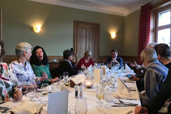 Diner in der Brasserie Au Violon