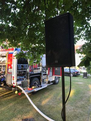 Feuerwehrübung der Feuerwehr Ravensburg