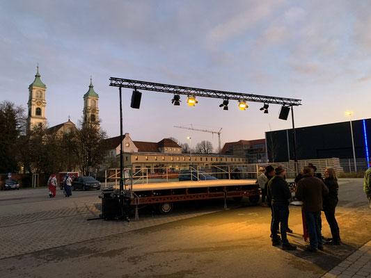 Narrenbaumstellen mit anschließender Party in Weißenau 2020