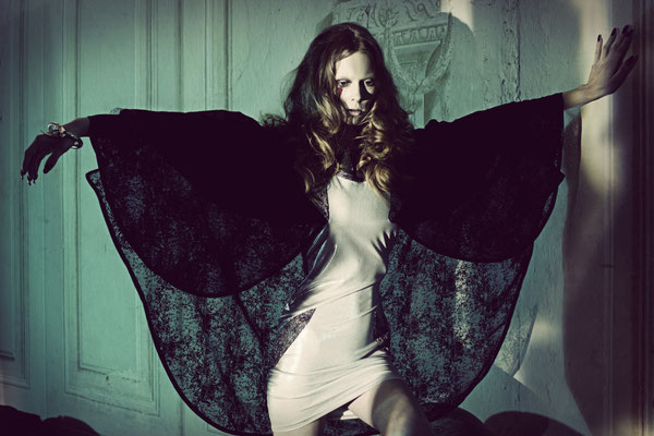 """vampara"" - photographer: andreas waldschuetz - creative director/styling: adia trischler - designer: Ara Jo - makeup: anie lamm-siu"