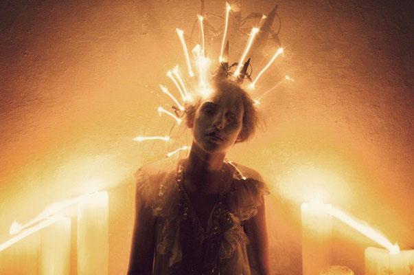 """apparition"" - photographer: andreas waldschuetz - creative director/stylist: adia trischler - makeup: anie lamm-siu"
