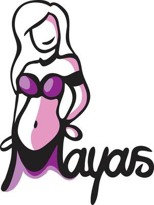 """Logo für Bauchtanzgruppe """"Mayas"""" (50€)"""