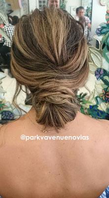peinado vanguardista a la moda para boda en Jiutepec