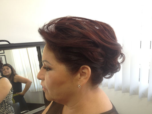 peinado recogido by park avenue salón
