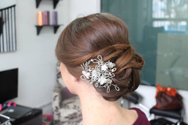 peinado recojido para boda en cuernavaca