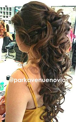 peinado estilo cascada by park avenue novias