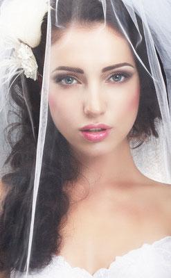 peinado para novia seductora