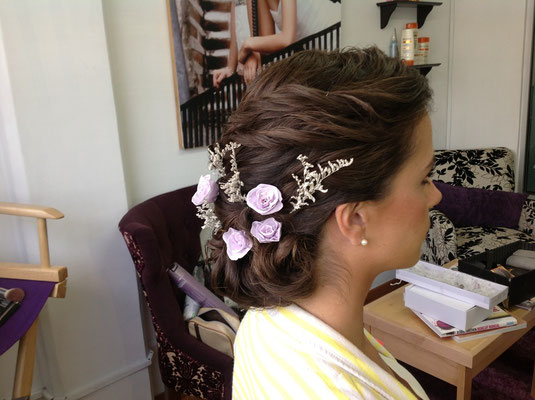 Lindo Peinado para una novia tradicional