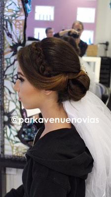 peinado de novia con trenza by park avenue