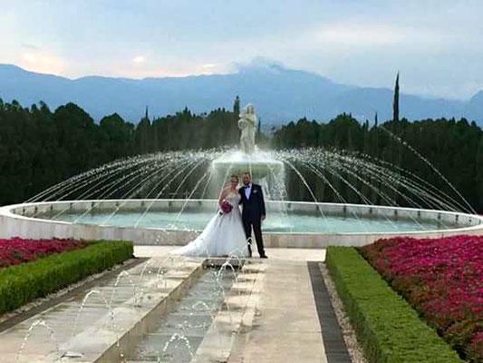 boda en jardines de México