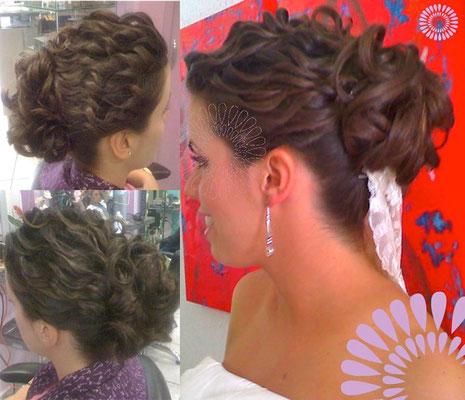 Peinado de novia en puebla