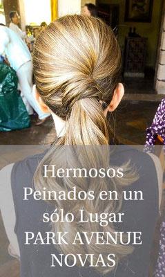 peinado cola de caballo cuernavaca by park avenue novias