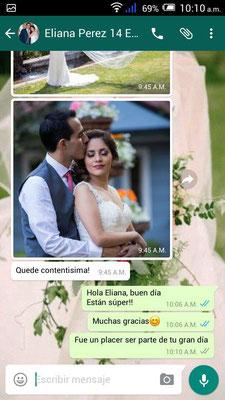 Gracias Eliana por permitirnos ser parte de tu Boda en Cuernavaca