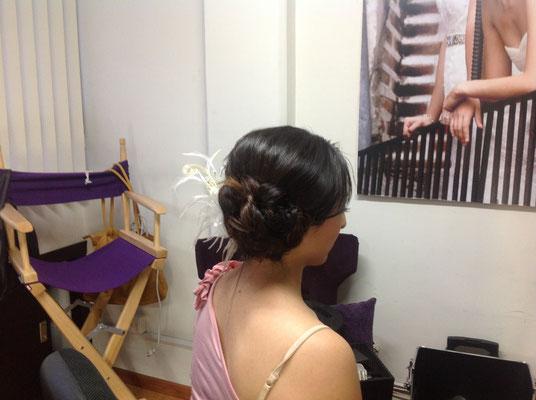 peinado para novia en puebla