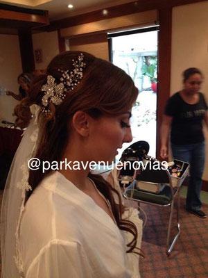 peinado novia estilo elegante en Cuernavaca