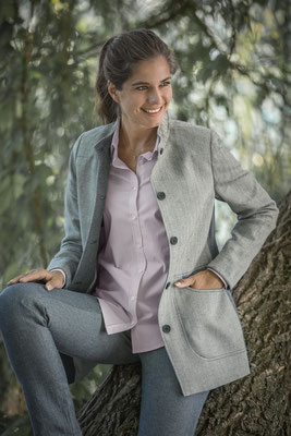 Jürgen Brand - Damenbluse Isabella - Fair Fashion - Manufactured in Austria