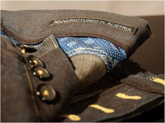 Jean Paul schwarzblau - 100 % griechische Biobaumwolle - Jürgen Brand - Fair Fashion - Manufactured in Austria