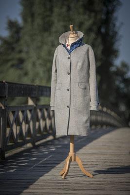 Jürgen Brand - Damenmantel Natalie - Fair Fashion - Manufactured in Austria