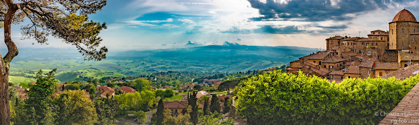 Volterra, Blick nach Westen