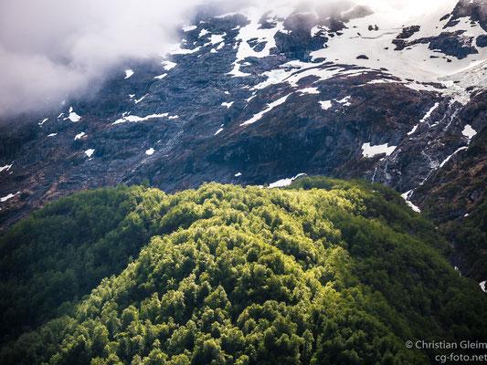 Norwegen, Åndalsnes, Blick auf  Romsdahler Alpen,  03.06.2017