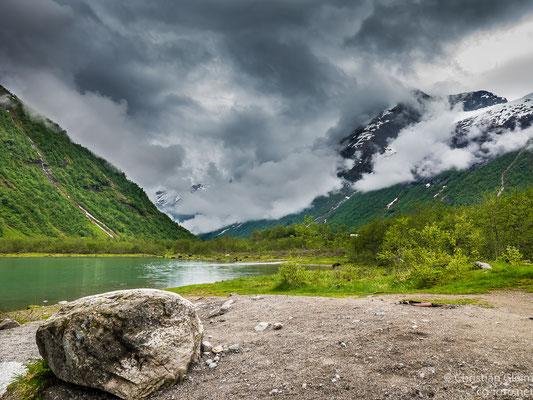 Norwegen, Sogn og Fjordane, am Rand des Jostedalsbreen Gletscher, 30.05.2017
