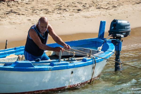 Fischer in Cefalú