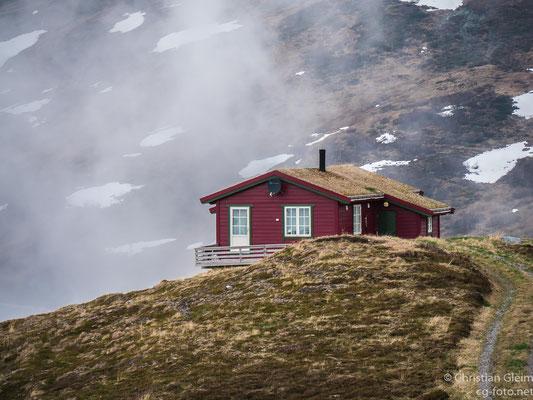 Norwegen, Sogn og Fjordane, am Rand der E 13, 29.05.2017