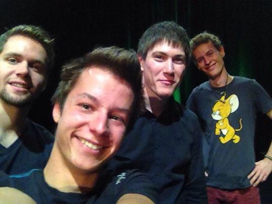Vor dem grossen Auftritt im Theater(uri). 06. September 2014