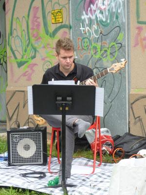 Der leicht verregnete Klangspaziergang des Alpentöne Festivals. 16. August 2015