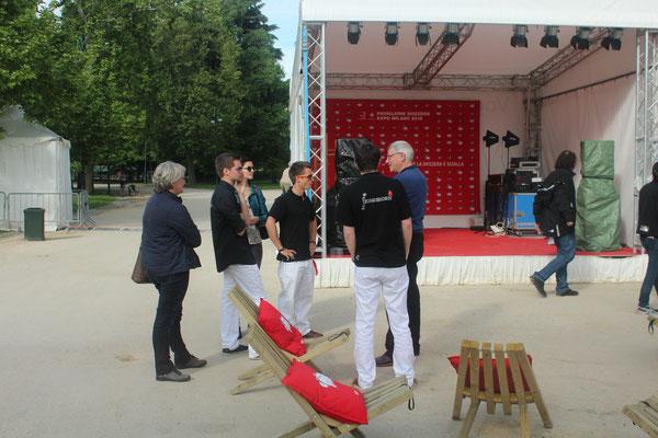 Unsere kleine, heimelige Bühne. Mai 2014