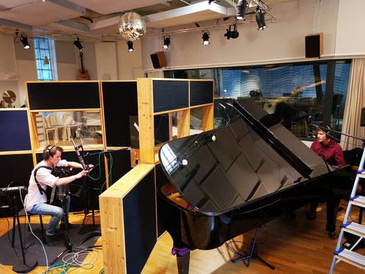 CD-Aufnahmen, Hardstudios Winterthur, 09. - 12. April 2021