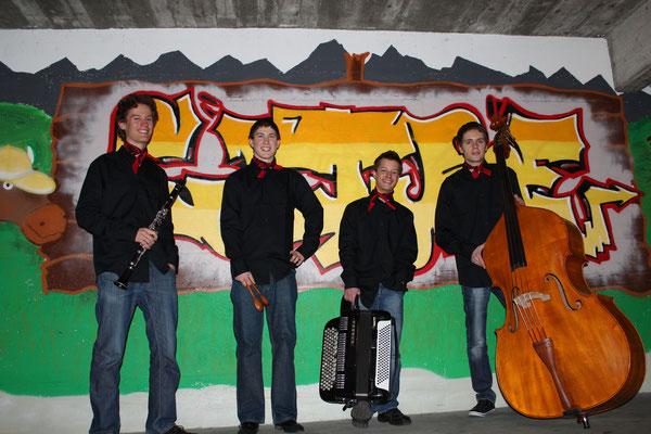 Foto mit Graffiti Kollegi, 2012
