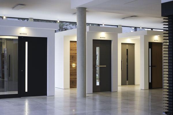 Aluminium Türen von Inotherm und Schüco - Haustürstudio Voth