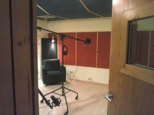 Sala de grabación de Cántico Producciones