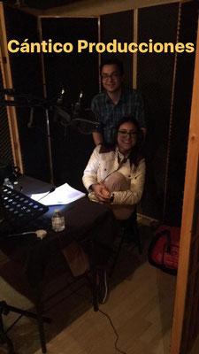 Nancy Dobles en Cántico Producciones . ADR Película Enredados la confusión