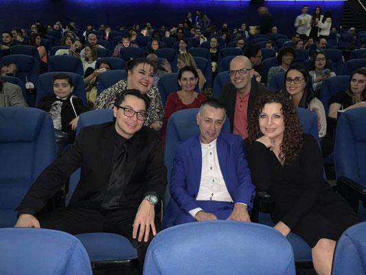 Christian Solís y Cynthia Alvarado  de Cántico Producciones Música para Cine