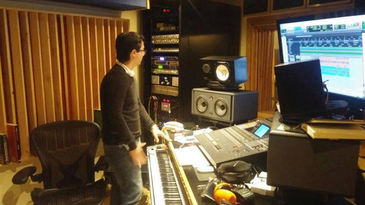 Ingeniero de grabación Christian Solís Núñez