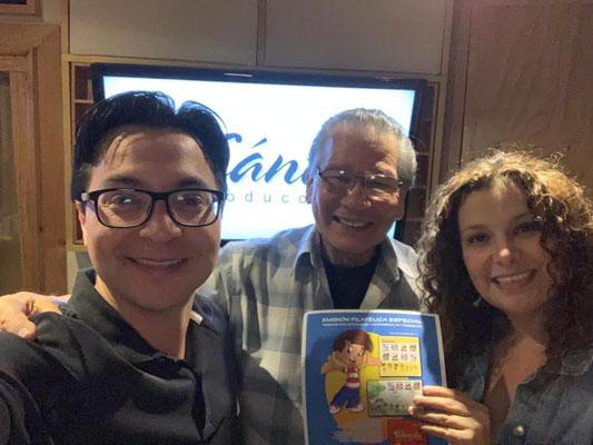 Tricolín y Carlos Figueroa. Música original y Post de Audio en Cántico Producciones
