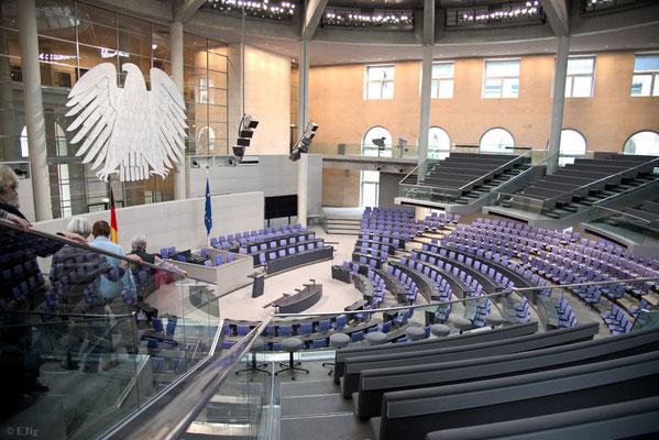 Plenarsaal im Reichstag