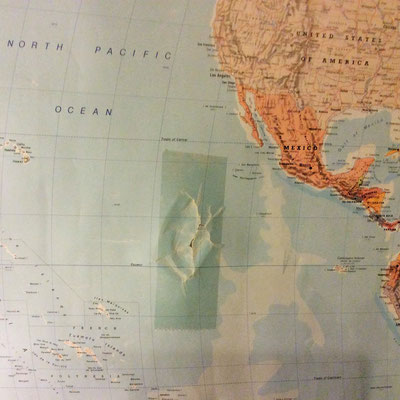 Heute habe ich den Pazifischen Ozean repariert