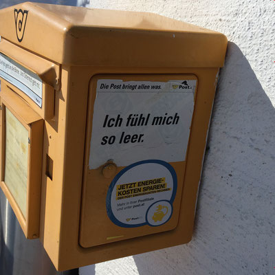 Postkartenkümmernis