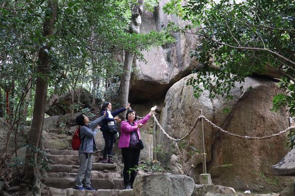 西宮 越木岩神社の磐座