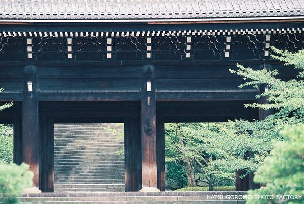京都、知恩院 Chion-in in Kyoto