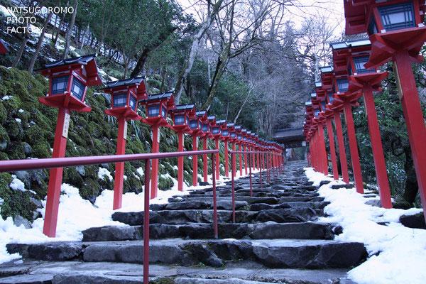 京都、貴船神社 Kibune Shrine in Kyoto
