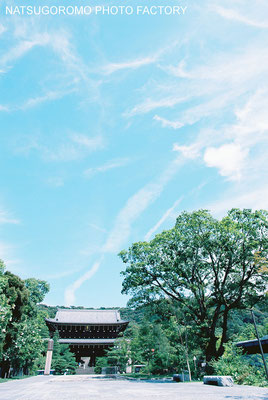 京都、知恩院  Chion-in in Kyoto  EOS620