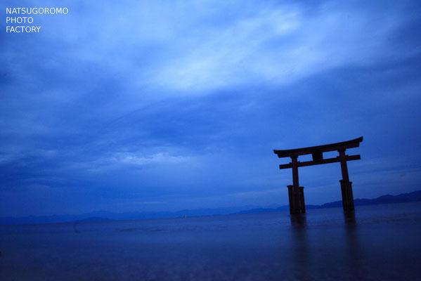 滋賀、白髭神社 Shirahige Shrine in Shiga prefecture