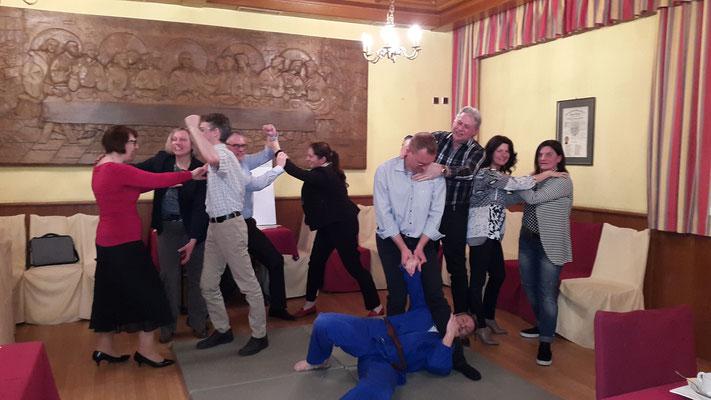 JUKO - Verhandeln und Kommunikation nach den Prinzipien des Judo; 22.3.2017; Gruppenfoto