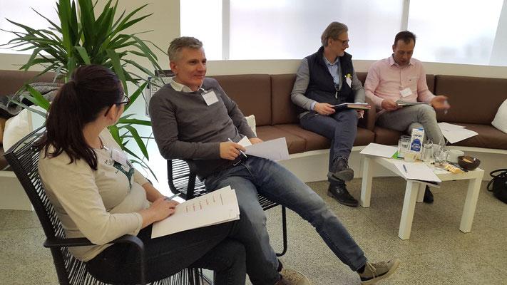 Workshop SeGel - Selbstwert ist Geldwert 25.2.2017; Kleingruppen